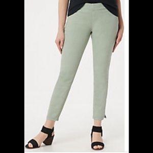 New! NYDJ Alina Pull On Pants Desert Willow 4